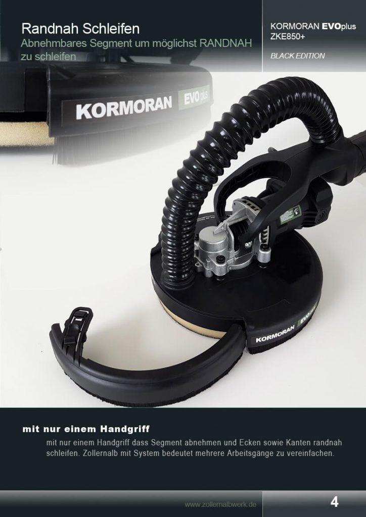 zollernalb kormoran evoplus trockenbauschleifer zke850 zollernalb werkzeuge und antriebssysteme. Black Bedroom Furniture Sets. Home Design Ideas