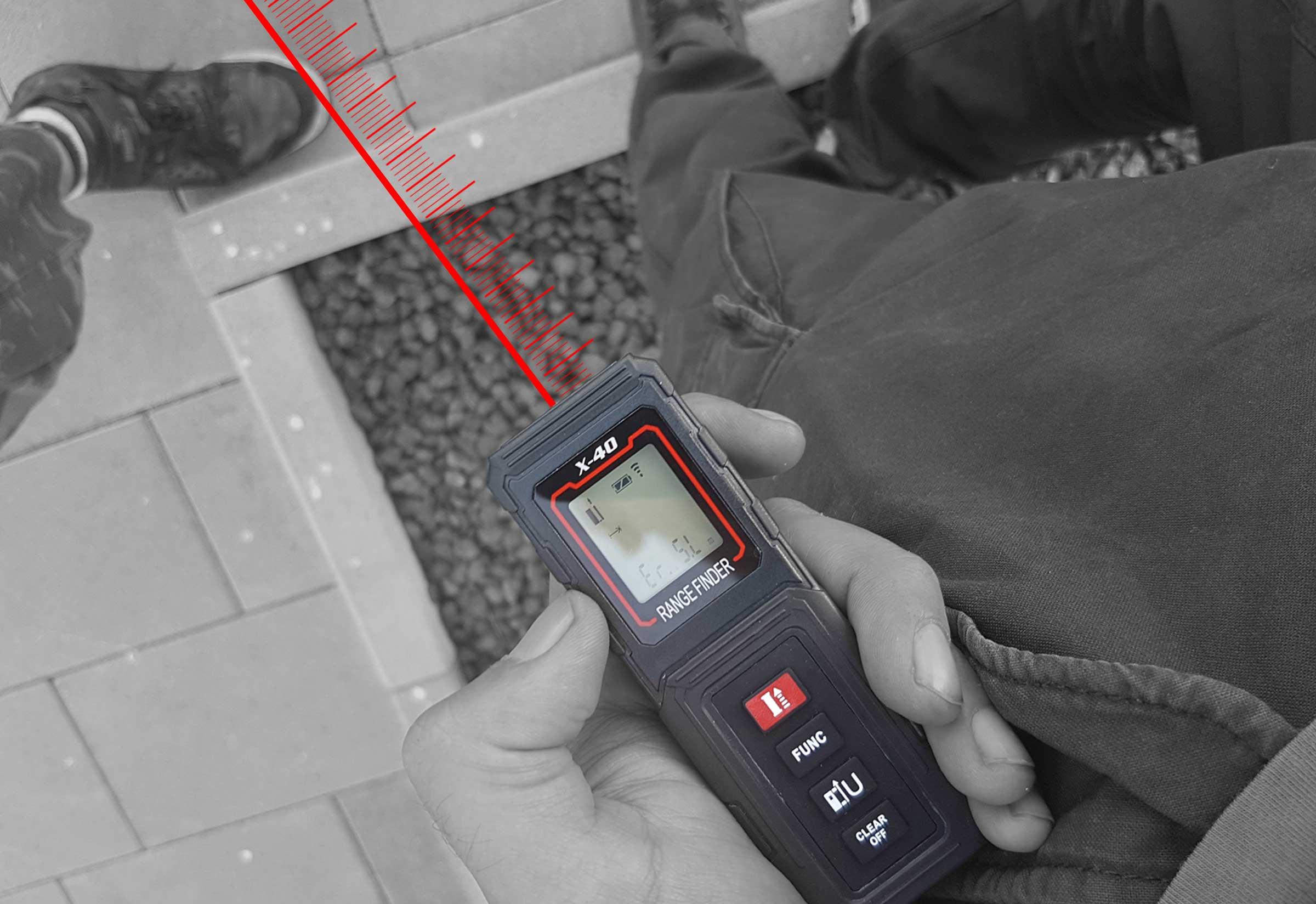 Laser Entfernungsmesser Erklärung : Zollernalb medusa zm laser distanzmessgerät entfernungsmesser